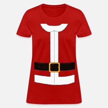 45acf1773 Funny Santa Claus / Christmas costume Women's Jersey Longsleeve ...