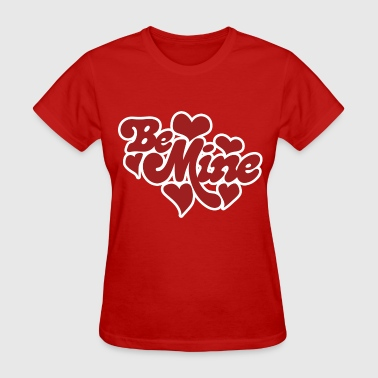 Be Mine Hearts - Women's T-Shirt