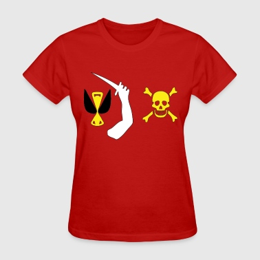 Christopher Moody Pirate Flag - Women's T-Shirt
