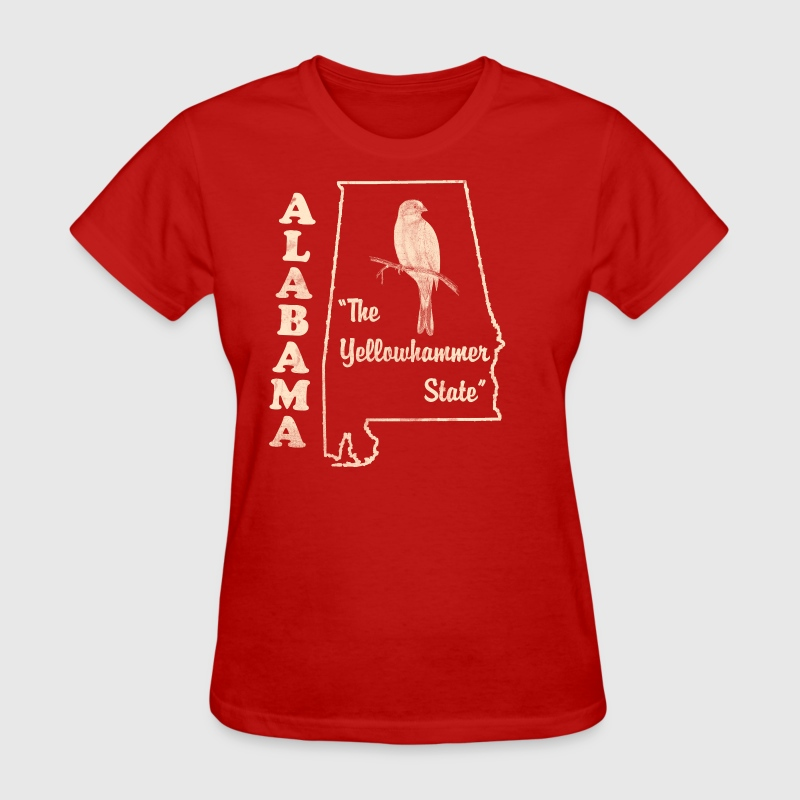 Alabama, the yellowhammer state vintage by pgage   Spreadshirt