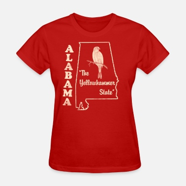 The Yellowhammer State Alabama, the yellowhammer state vintage - Women's T-Shirt