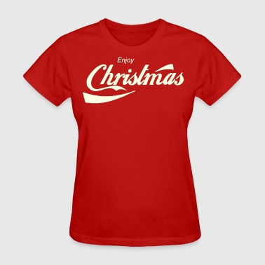 Enjoy Christmas parody logo - Women's T-Shirt
