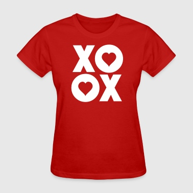 XOXO Hugs and Kisses Valentine's Day - Women's T-Shirt