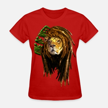 Dreads rasta lion - Women's T-Shirt