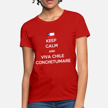 Chile Keep calm and viva Chile - Women's T-Shirt