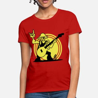 Rocker Guitarist Rocker - Women's T-Shirt