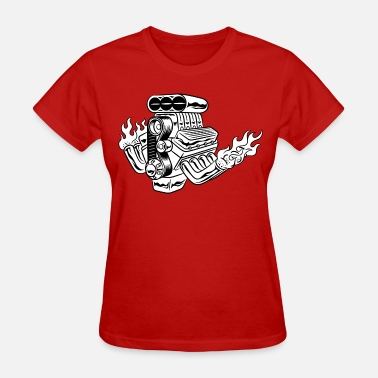 Hot Designs Hot Rod HD Design - Women's T-Shirt