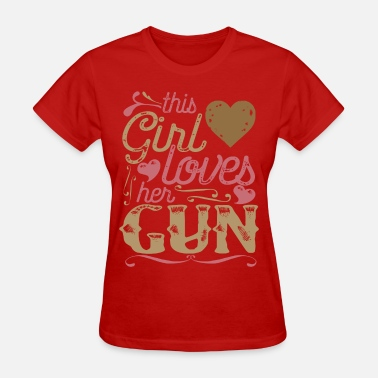 Gun-shirt Gun Guns Shirt Gift - Women's T-Shirt