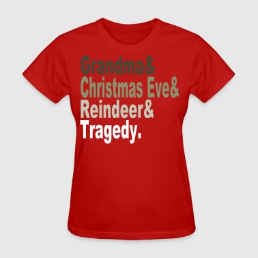 Christmas Tragedy - Women's T-Shirt