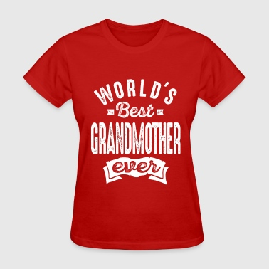 Worlds Best Grandmother - Women's T-Shirt