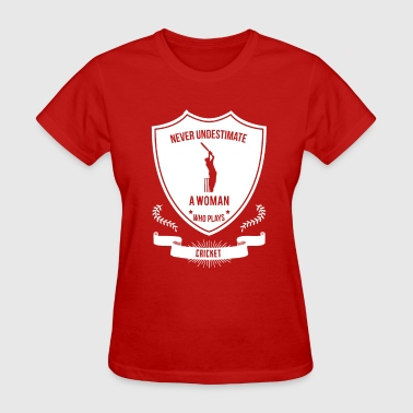 cricket - Women's T-Shirt