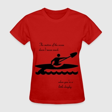 motion_of_the_ocean - Women's T-Shirt
