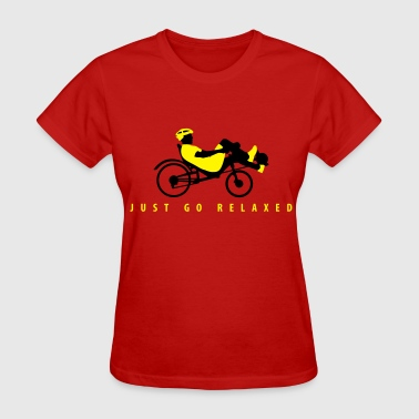 recumbent bicycle cyclist - Women's T-Shirt