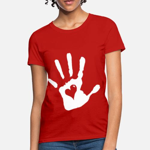 71b4322f68a ... Heart - Women s T-Shirt red. Do you want to edit the design