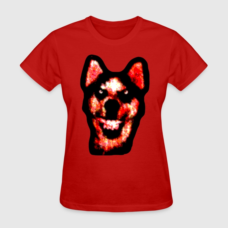 Smile Dog - Women's T-Shirt