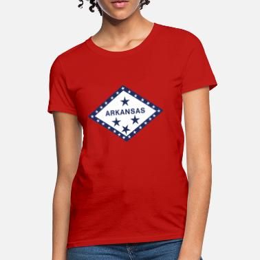 Arkansas State Flag Arkansas Flag Shirt - Women's T-Shirt