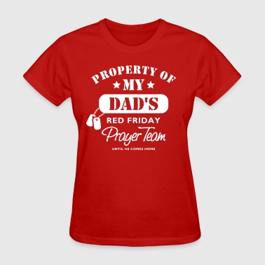 Red Friday PT Dad - Women's T-Shirt