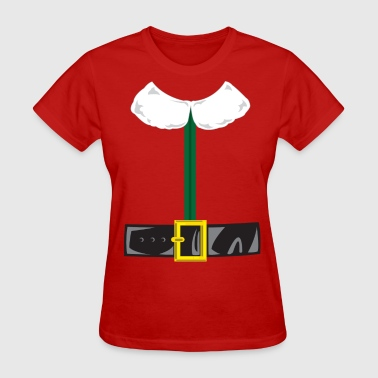 Elf Costume with Belt - Women's T-Shirt