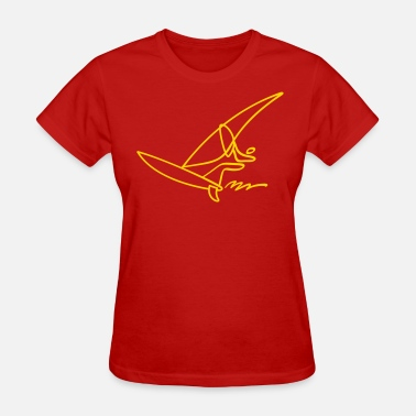 Extreme Metal Extreme Windsurfing - Women's T-Shirt
