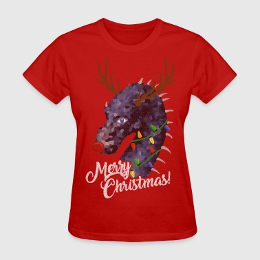 A Merry Dragon-filled Christmas - Women's T-Shirt