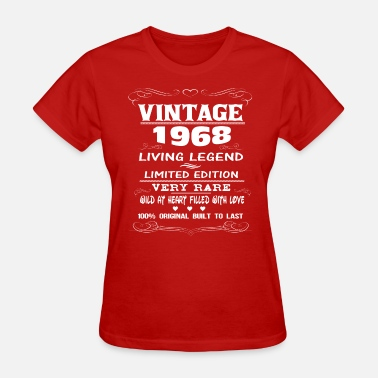 Aged To Perfection VINTAGE 1968 - Women's T-Shirt