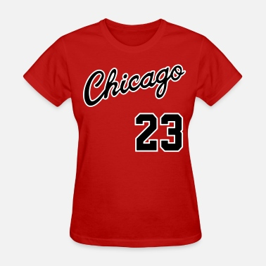 Jordan 23 Chicago 23 Script Shirt - Women's T-Shirt