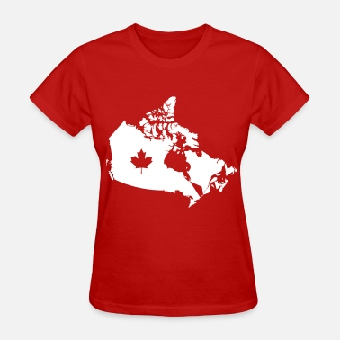 Us And Canada Canada - Women's T-Shirt