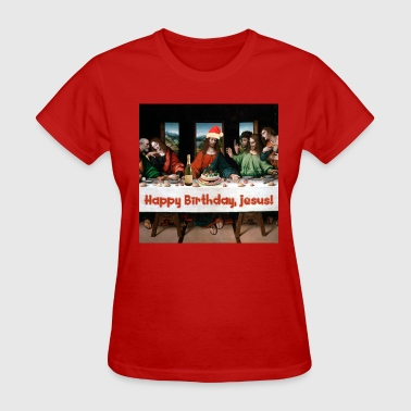 Jesus Birthday Happy Birthday, Jesus! - Women's T-Shirt