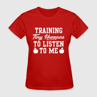 Training Tiny Humans - Women's T-Shirt