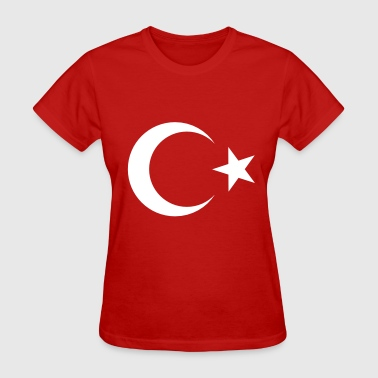 Turkish Flag - Women's T-Shirt