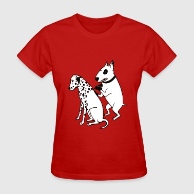 Tattoo Dogs DALMATIAN DOG, TATTOO - Women's T-Shirt
