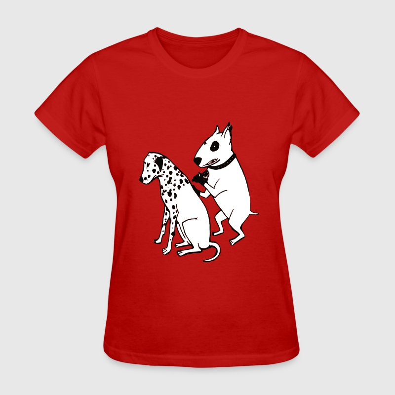 DALMATIAN DOG, TATTOO - Women's T-Shirt