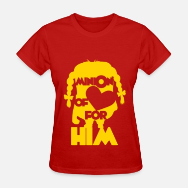 Love Minion minion of love (girls) - Women's T-Shirt