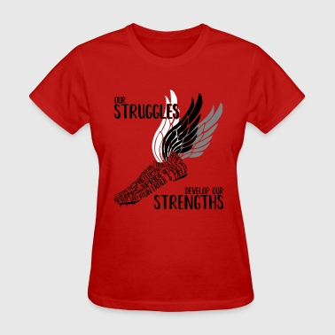 Struggles & Strengths - Women's T-Shirt