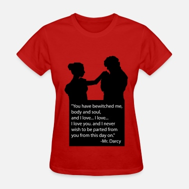 Elizabeth Bennet mr. D - Women's T-Shirt