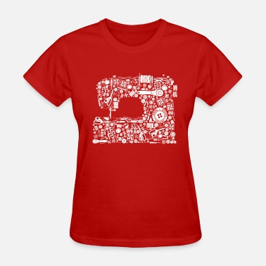 Quilt Sewing Quilting Crafting - Women's T-Shirt