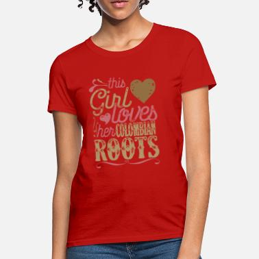 Colombia Roots Roots - Colombian Roots Patriot Shirt Colombia - Women's T-Shirt
