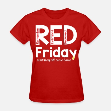 Red Fridays RED Friday Coffee Mug - Women's T-Shirt
