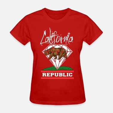 California Diamond California Diamond Republic - Women's T-Shirt