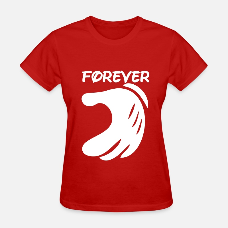 Love T-Shirts - forever - Women's T-Shirt red