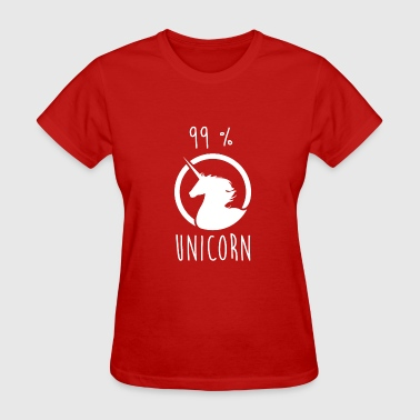 99% Unicorn 99% unicorn - Women's T-Shirt