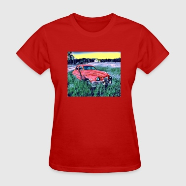Car Art Design Concept - Women's T-Shirt