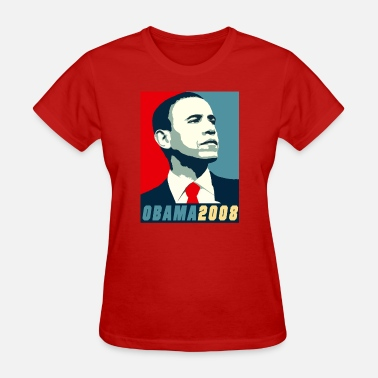 Barack Vote VOTE BARACK OBAMA 2008 - Women's T-Shirt