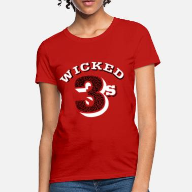 Air Jordan 3 Wicked jordan 3's - Women's T-Shirt