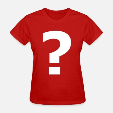 Question Question mark - Women's T-Shirt