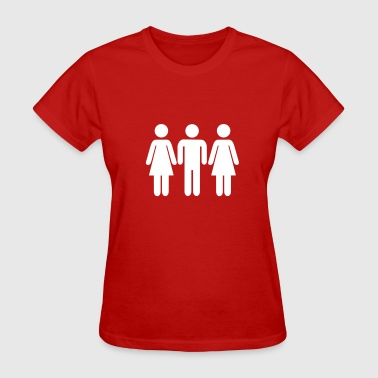 Threesome - Women's T-Shirt