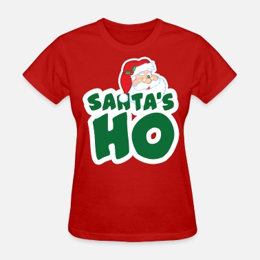 Dirty Santa Santa's Ho - Women's T-Shirt