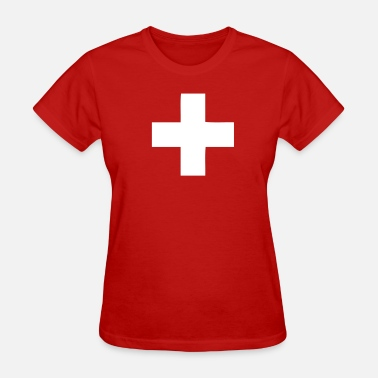 Switzerland Swiss Switzerland - Swiss Cross - Women's T-Shirt