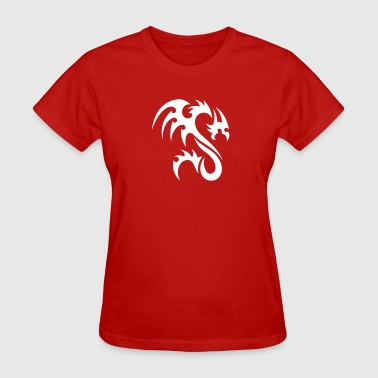 Tribal Dragon - Women's T-Shirt