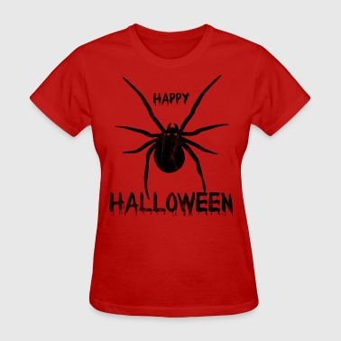 Happy Halloween Spider - black - Women's T-Shirt